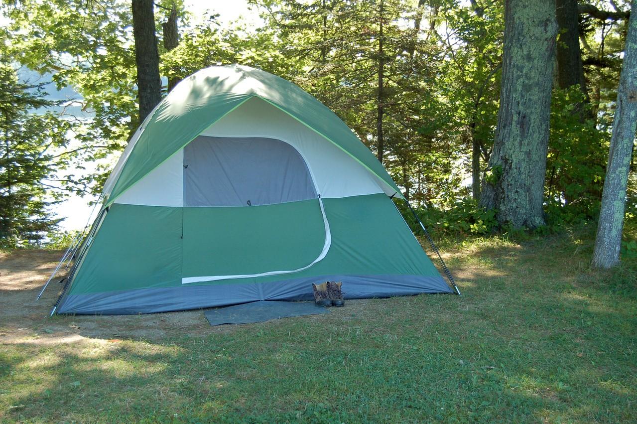 Gdzie wyjechać pod namiot